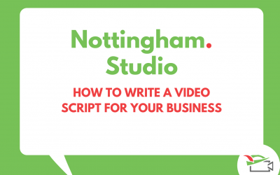 How to write a video script for your business